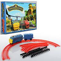 """Детская игрушечная Железная дорога """"Чаггингтон"""" 222-10, вагончик 1шт, на бат-ке, в кор-ке, 23-16,5-4см"""