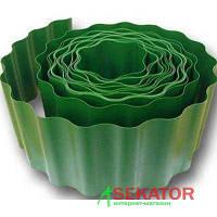 Бордюр садовый зеленый10 х 900 см
