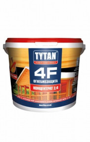 Деревозащитный состав Огнебиозащита Tytan 4F 1:4, 20 кг
