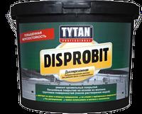 Мастика для легкой гидроизоляции битумно-каучуковая  Tytan  Disprobit , 10 кг 10 кг