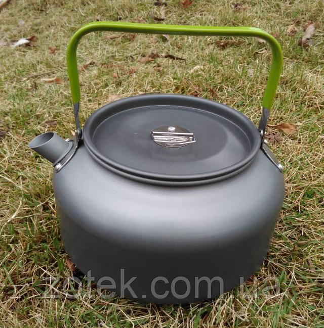 Чайник DS-12 - 1.2л туристический походный для горелки