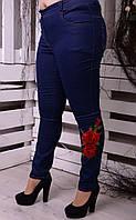 Джинси з високою талією для пишних жінок, з 48 по 82 розмір, фото 1