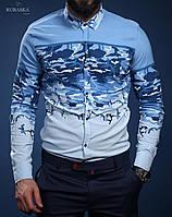 Рубашкамужская,р.M, L, XL, XXL Турция