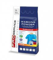 PRO Порошок стиральный бесфосфатный автомат Color (горная свежесть), 3,6 кг (3шт/ящ)