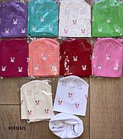Детский   Набор для девочки шапка +хомут 0191(32)