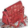 Женская сумка плетеная 01527922716172red красная, фото 2