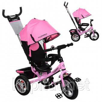 Трехколесный велосипед Turbo Trike M 3113A-10, нежно-розовый