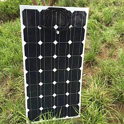 Гибкая солнечная батарея 100 Вт 12 В (самоклеющаяся)