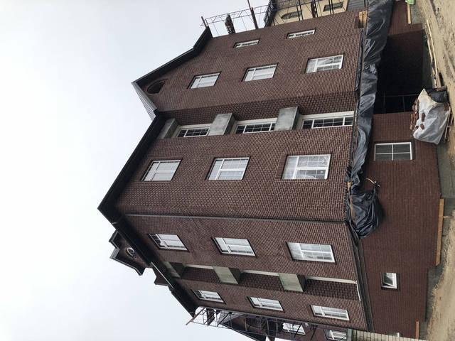 Облицовка фасада клинкерным кирпичом Керамейя -1