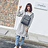 Женский рюкзак с двумя молниями 01540894938123green зеленый, фото 4