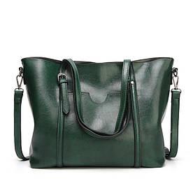 Женская сумка с карманом 01550476632328khaki хаки