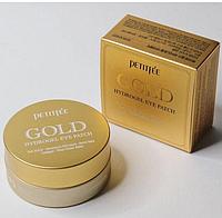Гидрогелевые патчи для глаз с золотым комплексом +5 Petitfee&Koelf Gold Hydrogel Eye Patch