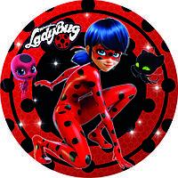 Тарелки бумажные, Lady Bug, Леди баг.