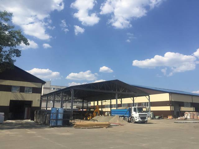 Строительство холодного складского помещения 2017 г. -1