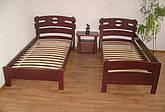 """Кровать односпальная """"Токио"""". Массив - сосна, ольха, береза, дуб."""