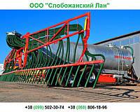 🇺🇦 Вакуумный полуприцеп-цистерна ВНЦ-8/1 для воды и удобрений