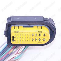 Разъем электрический 16-и контактный (45-19) б/у 211PC299S0042