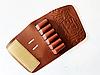 Патронташ ― муфта на приклад кожаная на 6 патронов.