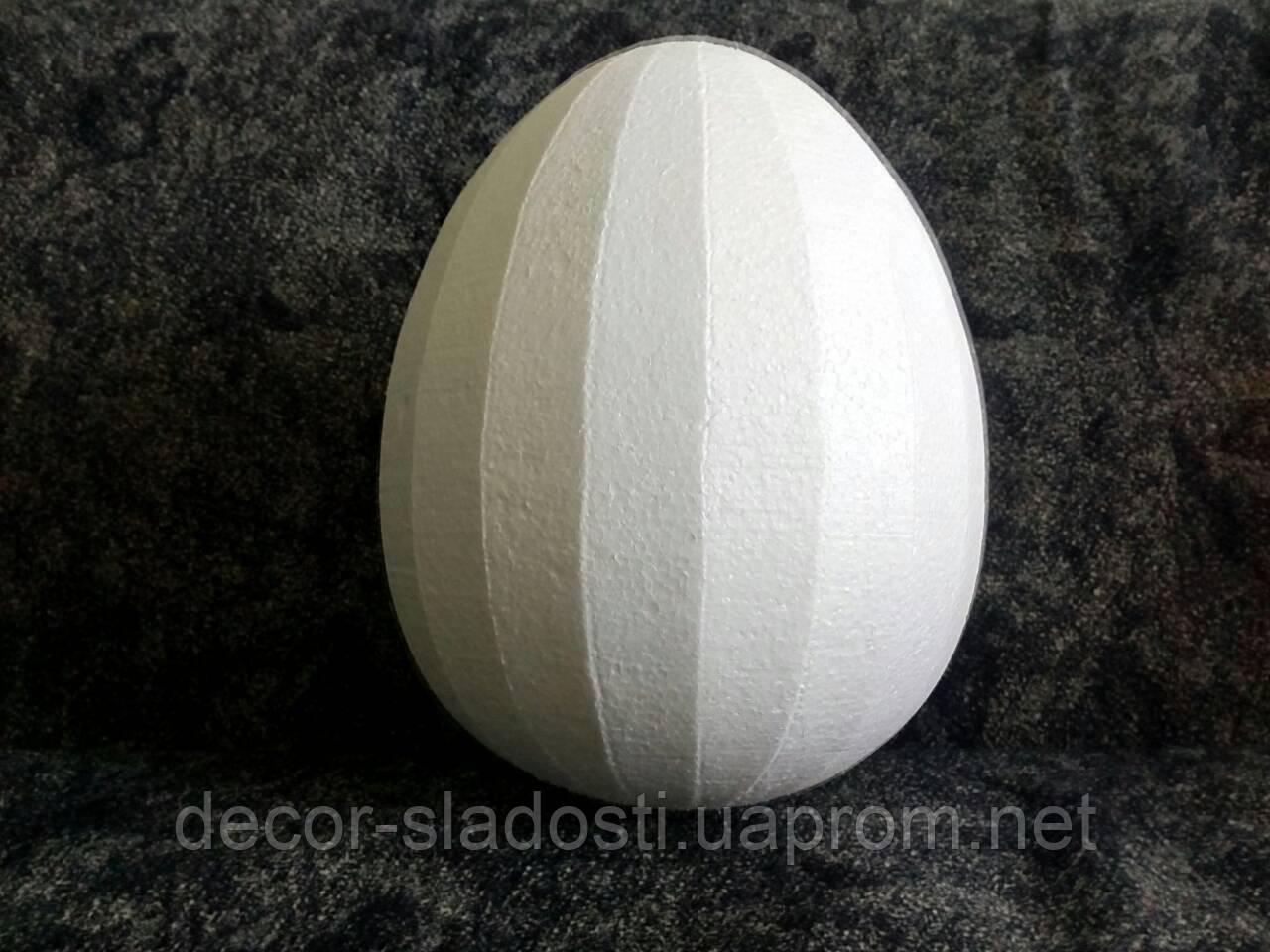 Пенопластовые яйца высота  25см