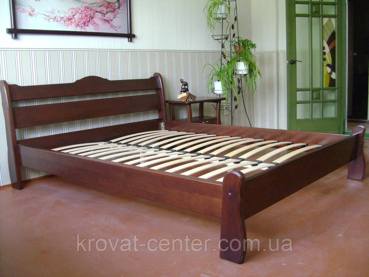 """Кровать полуторная из дерева """"Грета Вульф"""""""