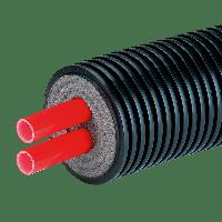 Теплоизолированная гибкая труба из пластика AustroISOL double 2-32/125, фото 1