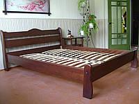 """Кровать двуспальная """"Грета Вульф"""". Массив - сосна, ольха, береза, дуб."""