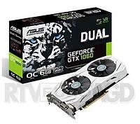 Видеокарта для майнинга в наличии ASUS GeForce GTX 1060 DUAL 6GB GDDR5 (DUAL-GTX1060-O6G)