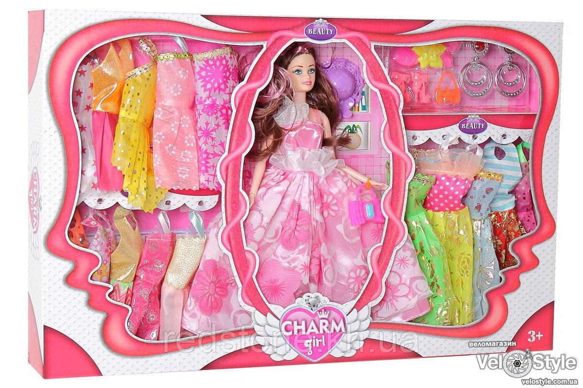 Кукла с гардеробом и аксессуарами 093E