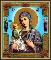 Образ Богородиця Ієрусалимська 200х240мм №226 в багетній рамці