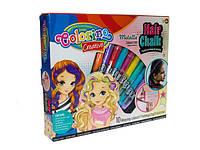 Краски для волос 10 цветов микс (12018635) Код:12018635