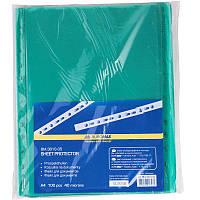 Файлы А4 40мк 100шт цветные Buromax 3810_Зелёный