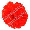 Декор бумажные Помпоны 40см (красный 0007)
