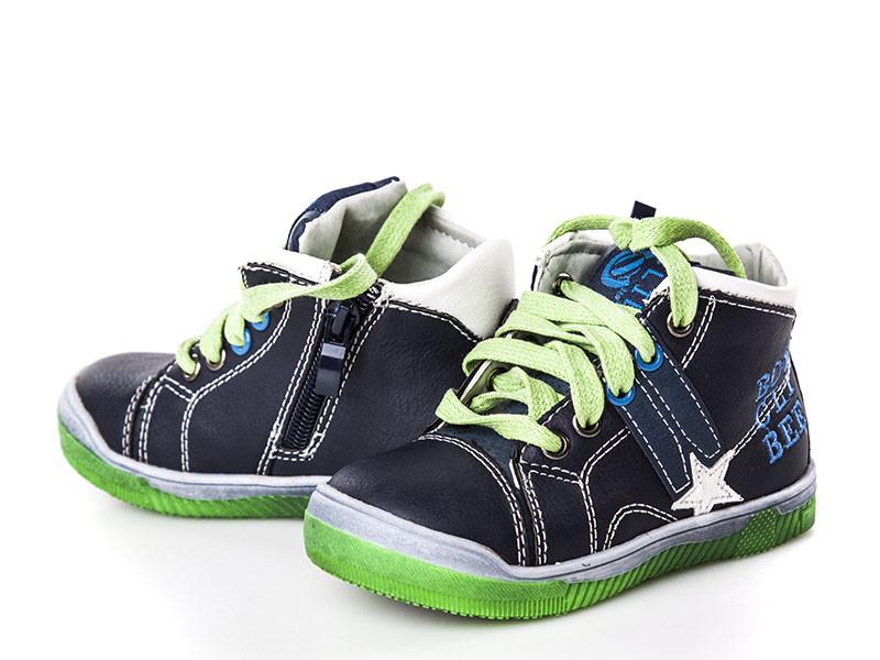 b438f8b8 Обувь для мальчиков, детские ботики синие, Clibee Польша : продажа ...
