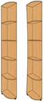 Консоль прямая КП-454