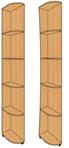 Консоль радиусная КР-604