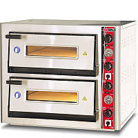 Печь двухуровневая для пиццы SGS РО 6262 DЕ с термометром