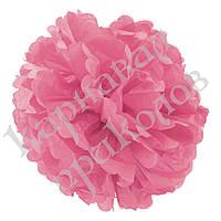 Декор бумажные Помпоны 40см (розовый 0020), фото 1