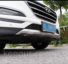 Накладки на бампер Hyundai Tucson TL 2015+