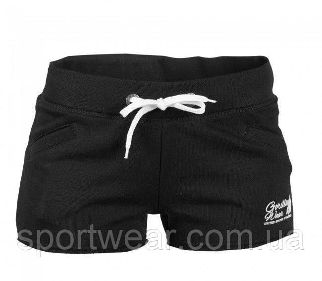 Шорты для фитнеса Women's New Jersey Sweat Shorts Black, фото 1