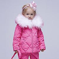 Костюм демисезонный детский W-0011-16-pink   Vichitore