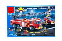 """BRICK 908 (18) """";Пожарная тревога"""";, 607 дет, в коробке Код:04021477"""