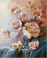 Картина раскраска по номерам на холсте 40*50см Babylon VP325 Розовое утро