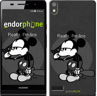 "Чехол на Huawei Ascend P6 Swag.  Mickey Mouse ""797c-39-7673"""