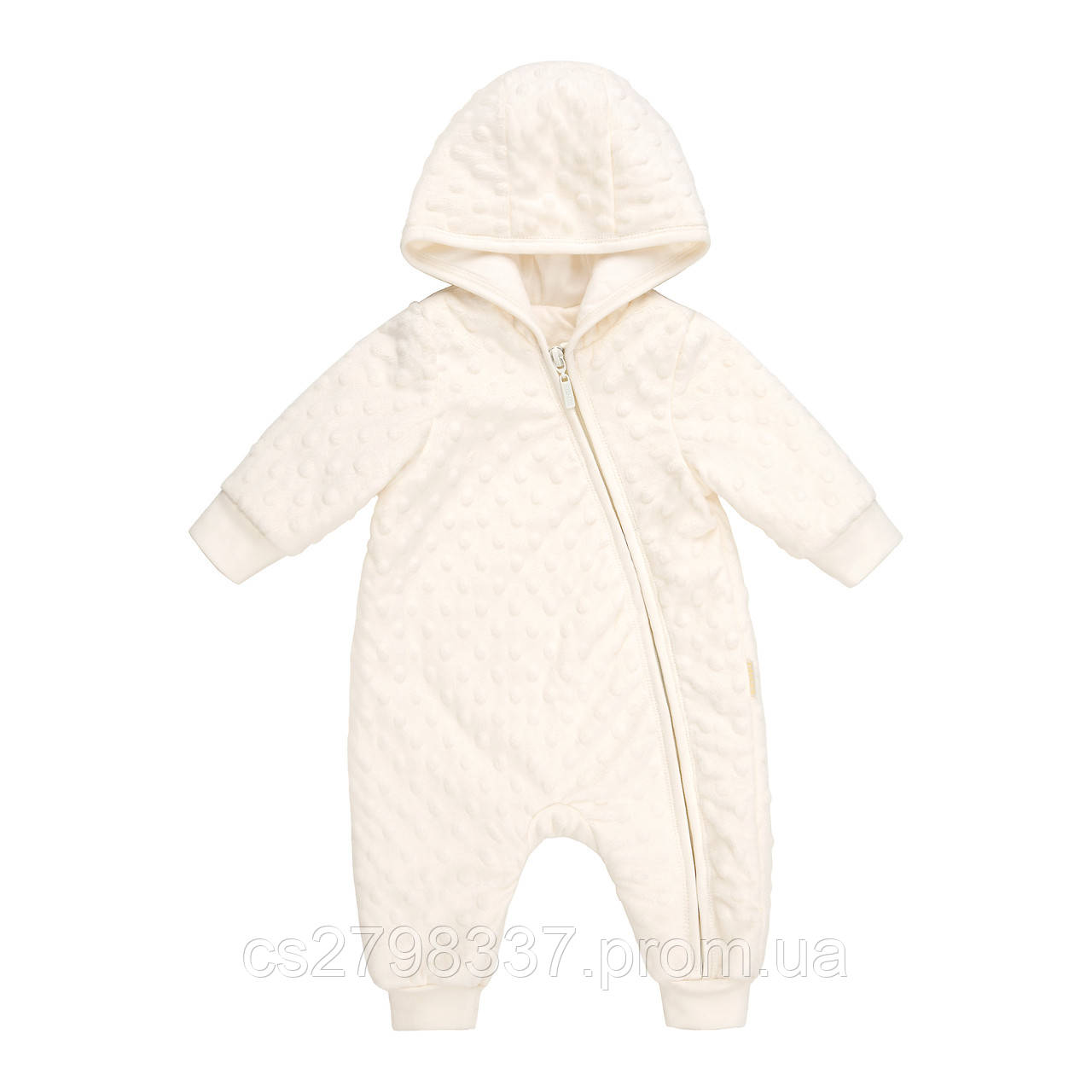a1af47067cd0cd Комбінезон демісезонний, плюш фактурний, для новонароджених. з довгим  рукавом. КБ99 р.