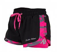 Шорты для фитнеса Denver Shorts Black/Pink, фото 1