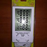 Цифровой термометр ТА-298, Термометр для инкубаторов, термометр-гигрометр для инкубаторов