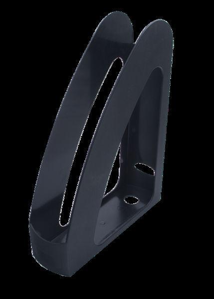Лоток для бумаги вертикальный АРНИКА 8053* Радуга_Черный