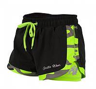 Шорты для фитнеса Denver Shorts - Black/Neon Lime, фото 1