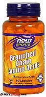 Аминокислоты BCAA Now Foods, 60 капс