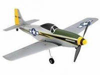 Самолет радиоуправляемый    Ultra-Micro P-51 RTF Mustang (ParkZone)   # 3600 PKZ (США)